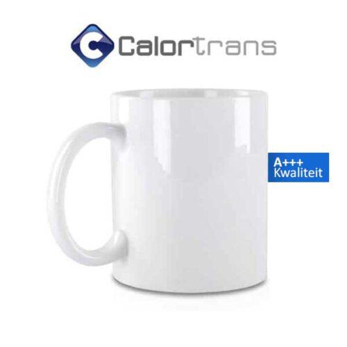 Calortrans Sublimatie-mokken A+++ kwaliteit wit 80mm 11oz per stuk verkrijgbaar