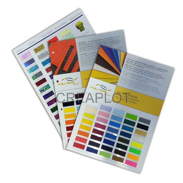 Kleurkaarten-Flexfolie
