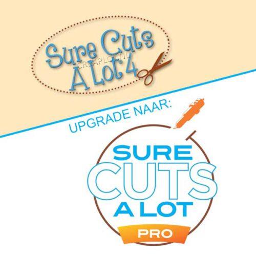 Upgrade van Scal4 naar Scal 4 pro Sure cuts a lot