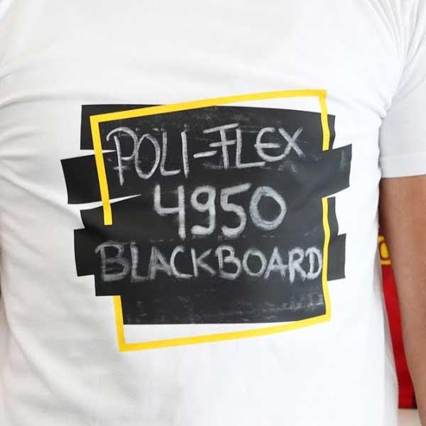 Krijtbord flexfolie te beschrijven met krijtjes blackboard