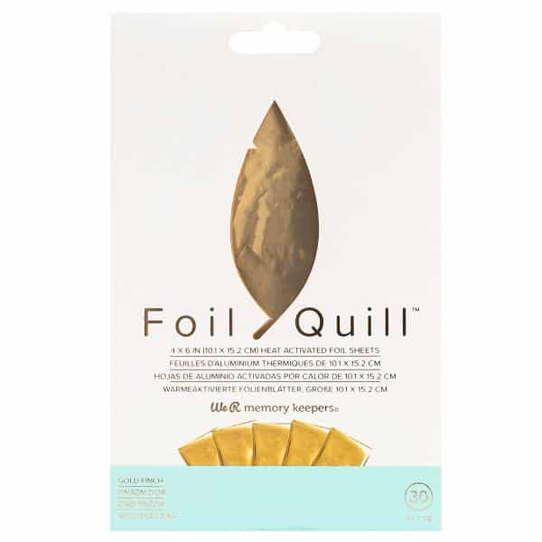 FoilQuill_FoilSheets_GoldFinch_Front