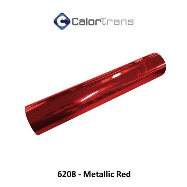 Calortrans spiegel textielfolie rood