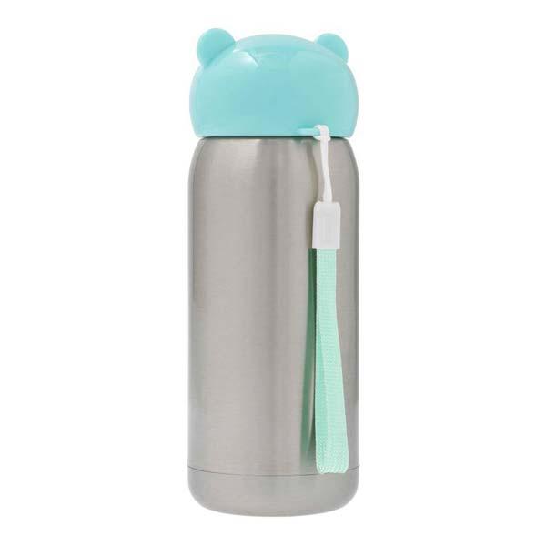 RVS drinkfles Blauw