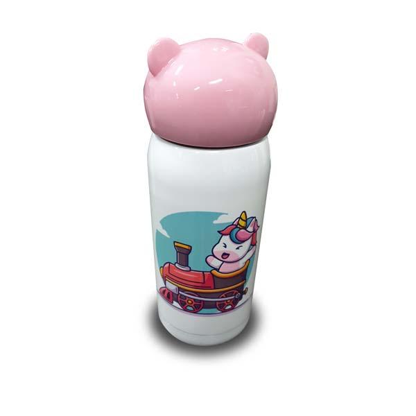 Sublimatie drinkbekere roze bedrukt