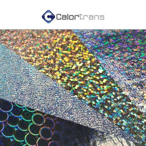 Calortrans holografische textielfolie